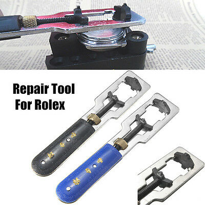 2PCS Watch Back Case Cover Opener Remover Wrench Repair Tool For Rolex Set