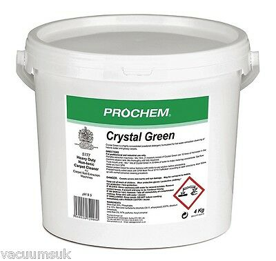 Prochem Crystal Green S777-04 Heavy Duty Carpet Cleaning Powder 4 kg Container