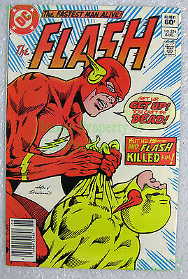 The Flash #324 NEWSSTAND Variant Death of Reverse-Flash Zoom Excel BIG PICS!