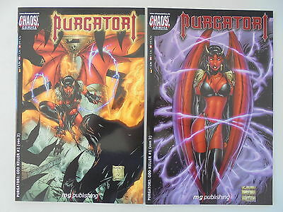 2x Purgatori - God Killer # 1+2 (von 2) Chaos! Comics / Z. 1
