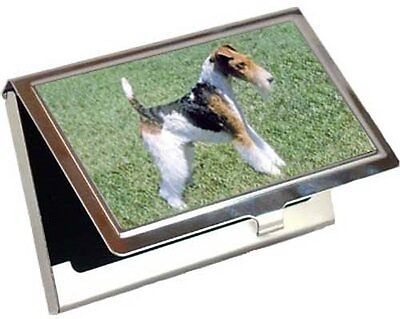 Wire Fox Terrier Business Card / Credit Card Case