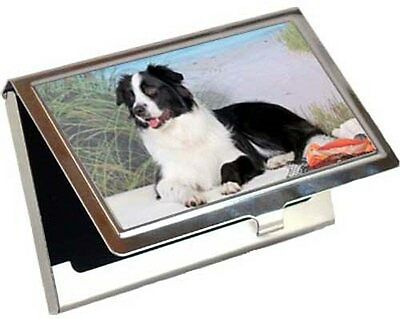 Border Collie Business Card / Credit Card Case