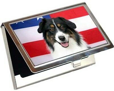Australian Shepherd Business Card / Credit Card Case