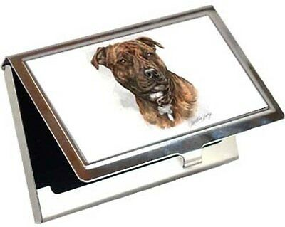 Staffordshire Bull Terrier Business Card / Credit Card Case
