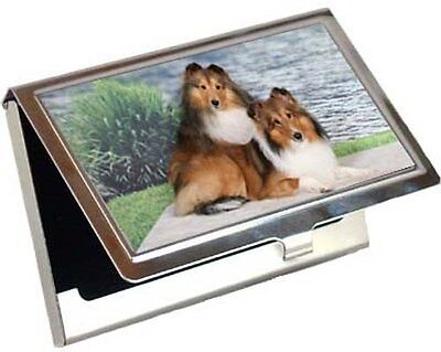 Shetland Sheepdog Business Card / Credit Card Case