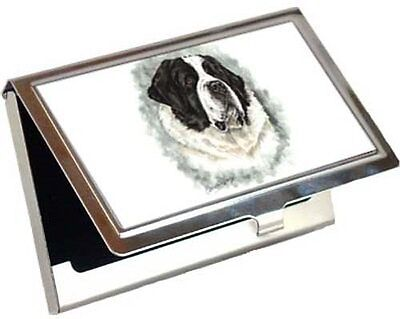 Saint Bernard Business Card / Credit Card Case