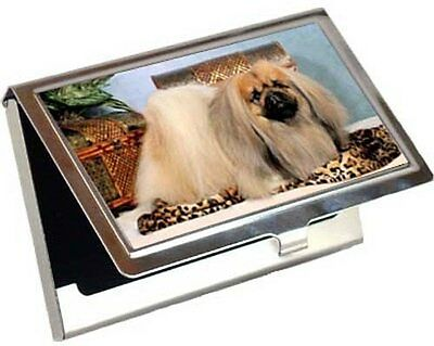 Pekingese Business Card / Credit Card Case