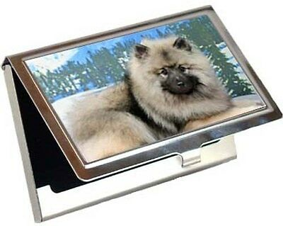 Keeshond Business Card / Credit Card Case