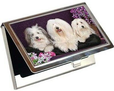 Havanese Business Card / Credit Card Case