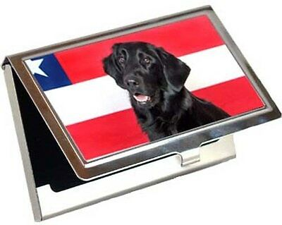 Flat Coated Retriever Business Card / Credit Card Case