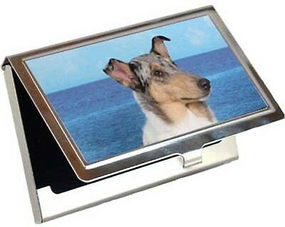 Collie Smooth Business Card / Credit Card Case