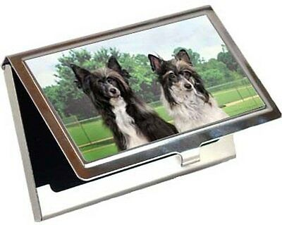 Chinese Crested Business Card / Credit Card Case