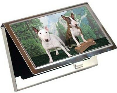 Bull Terrier Business Card / Credit Card Case