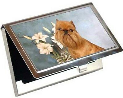 Brussels Griffon Business Card / Credit Card Case