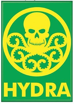 Hydra Insignia Marvel Comics Offically Licensed Photo Refrigerator Magnet