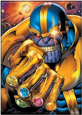 Thanos Gauntlet Marvel Comics Offically Licensed Photo Refrigerator Magnet