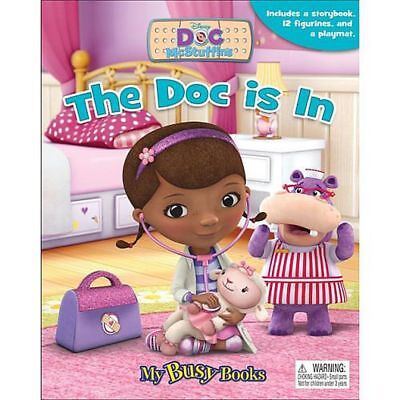 Phidal Publishing Doc Mcstuffins Busy Book - The Doc is In