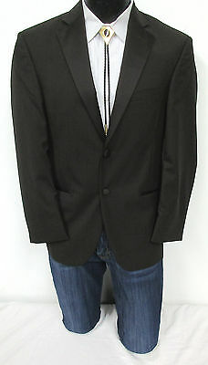 New With Tags Brown Calvin Klein Tuxedo Suit Jacket Western Style Wedding 44L