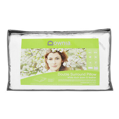 Downia Double Down Surround Pillow Duck Down and Feather