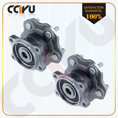 Pair Set Of 2 New Wheel Hub Bearing Assembly Rear for Nissan Altima Quest 5 Lug