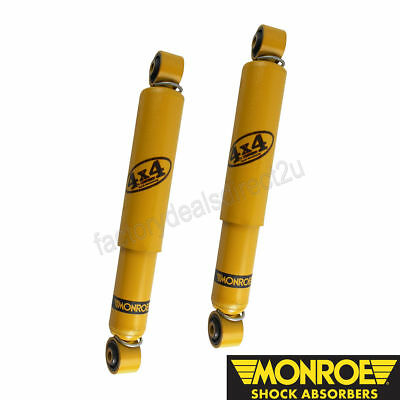 Monroe Gas-Magnum Shock Absorbers Rear Pair Suits Holden Captiva CG