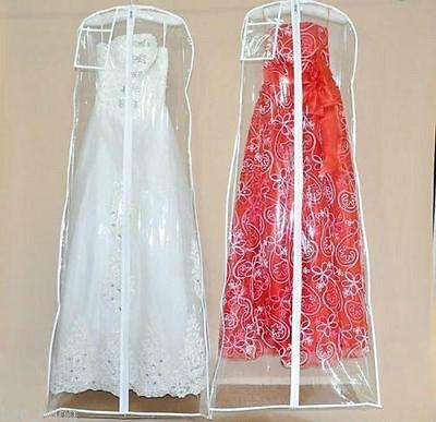 Wedding Dress Anti-Dust Plastic Protector PVC Bags Proof Dust Cover For Dresses