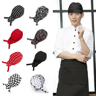 Baotou Skull Cap Chef Hat Professional Catering Various Colourfull Chef Cap New