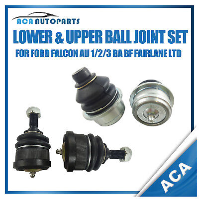 Upper Lower Ball Joint Kit Ford Falcon Fairlane LTD AU 1/2/3 BA BF Front 425426