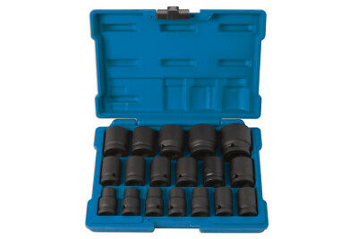 LASER TOOLS IMPACT SOCKET SET IN CASE 1/2 DRIVE 10mm TO 32mm