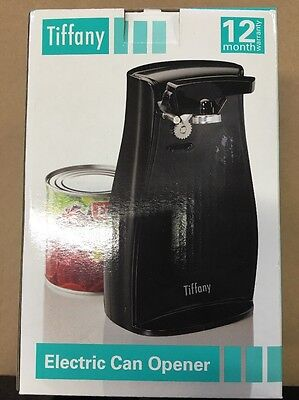 Tiffany Automatic Electric Can Tin opener/knife sharpener/Stainless steel blades