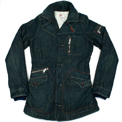 Girls Diesel Jagety Denim Jacket Coat Age 14-15 Years NEW RRP £120