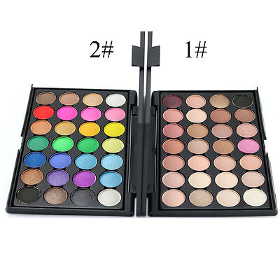 Professional 28 Color Nude Eye shadow Palette Makeup Cosmetic Beauty Set SW