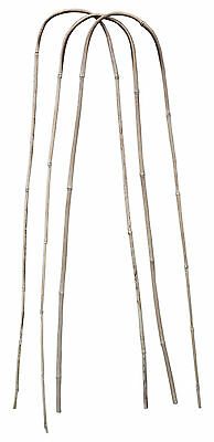 Garden Canes Strong Bamboo Plant Support Bracket 120cm U-Shape Pack of 3