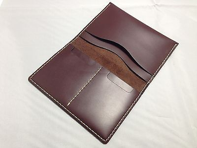 Genuine Handmade Leather Skin Passport Cover Holder Wallet
