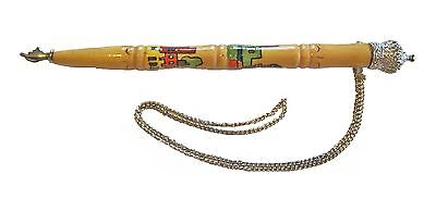 Jewish Torah Pointer Yad - Wood Handle - 18 Cm long