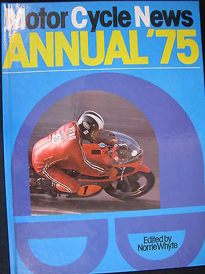 PSL Book MotorCycle News Annual '75, Norrie Whyte (English) (TTC)