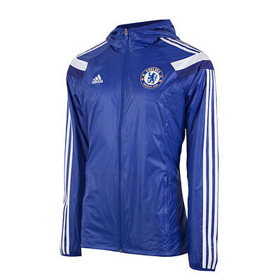 Chelsea FC anthem jacket Adidas F85571 in Small to XXL ( new in bag)