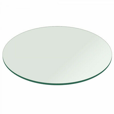 Glass Table Top 24 Inch Round 1 2 Inch Thick Flat Polish Tempered