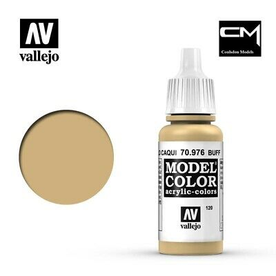 Vallejo Model Color Buff 70.976 (120) - 17ml Acrylic Paint