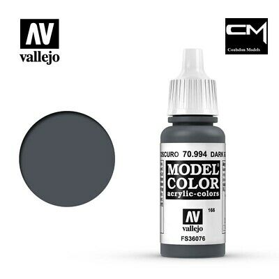 Vallejo Model Color Dark Grey 70.994 (166) - 17ml Acrylic Paint