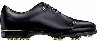 New FootJoy Icon Black Wide Golf Shoes Black 52043 Previous Season Style