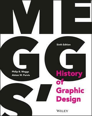 Meggs' History of Graphic Design by Philip B. Meggs (English) Hardcover Book Fre