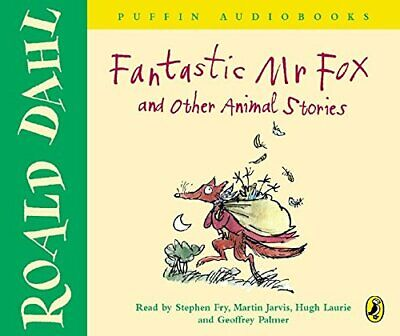 FANTASTIC MR FOX and Other Animal Stories by Dahl, Roald CD-Audio