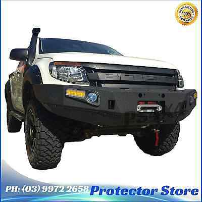 Steel Bull Bar Ford Ranger PX 2012-2015 Steel Winch Compatible Guard