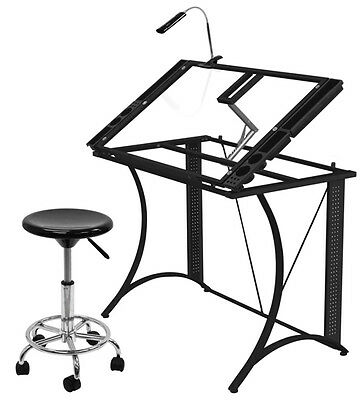 Art Craft Drawing Table Home Studio Design Painting Art Work Desk Station Table