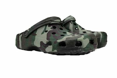 Camo Carp Fishing Sandals Bivvy Slippers Shoes Waterproof  Size 7 8 9 10 11