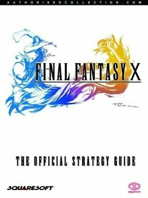 Final Fantasy X: The Official Strategy Guide by Piggyback Paperback Book The