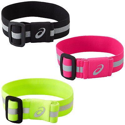 asics Running Liteshow Safety Sports Reflective Arm Leg Band Strap - Small