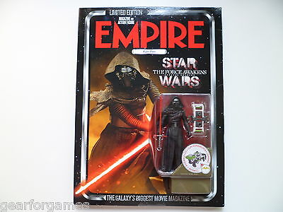 Empire Magazine 319 Limited Edition To 4500 Worldwide Kylo Ren Figure New!
