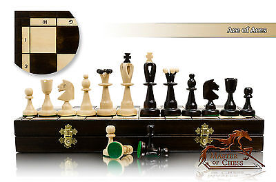 Great ACE OF ACES - Semi Professional Tournament 42cm / 16.5in Wooden Chess Set